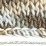 """Пряжа """"HOLLY MELANGE"""" классическая секционного крашения 1 шт. (""""Alpina"""") 200м 50 гр. мерсеризованный хлопок-100%"""