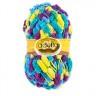 """Пряжа """"FANTASY LUXE PRINT"""" фантазийная толстая пакет 5 шт. (""""Adelia"""") 39м 100 гр. полиэстер-100%"""