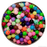 "Бусины пластиковые в форме шара глянцевые пакет 1 шт. (""HobbyLife"" HL10GL) 10мм пластик"