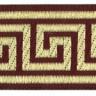 "Лента жаккардовая отделочная 1 шт. (""Gamma"" TRJ-03) 10м х 50мм"