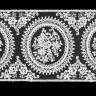 """Кружево """"сетка"""" 1 шт. (""""GAMMA"""" GKM-9301) 8.8м. х 93мм"""