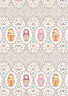 "Ткань для пэчворка КРОШКИ-МАТРЁШКИ фасовка 1 шт. (""PEPPY"") 50см х 55см хлопок-100%"