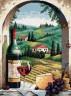 """Набор для вышивки """"Вид на Тоскану"""" 1 шт. (""""Dimensions"""" 20054) 41см х 30см"""