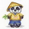 """Набор для вышивки """"Панда Минг"""" 1 шт. (""""Panna"""" Д-0175) 10см х 11см"""