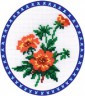 "Набор для вышивки ""Лапчатка"" 1 шт. (""Panna"" Ц-0069) 17см х 22см"