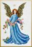"""Набор для вышивки """"Ангел с розами"""" 1 шт. (""""Panna"""" Ф-0437) 15см х 23см"""