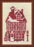 """Набор для вышивки """"Имбирный дом"""" 1 шт. (""""Panna"""" Д-0850) 11.5см х 17см"""