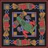 """Набор для вышивки """"Орнамент с рыбами"""" 1 шт. (""""Panna"""" О-0167) 35см х 35см"""