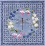 """Набор для вышивки """"Цветочный узор.Стрекоза"""" 1 шт. (""""Panna"""" Ц-0737) 26.6см х 26.6см"""