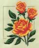 """Набор для вышивки """"Садовые розы"""" 1 шт. (""""Panna"""" Ц-0980) 18см х 20см"""