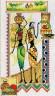 """Набор для вышивки """"Африка.Женщины и керамика"""" 1 шт. (""""Panna"""" НМ-0740) 19см х 32см"""