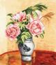 """Набор для вышивки """"Розовые пионы"""" 1 шт. (""""Panna"""" Ц-0440) 25см х 29см"""