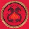 """Набор для вышивки """"Сила дракона"""" 1 шт. (""""Panna"""" СО-0720) 37.5см х 37см"""