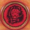 """Набор для вышивки """"Могущество льва"""" 1 шт. (""""Panna"""" СО-0770) 37.5см х 37см"""