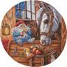 """Набор для вышивки """"Домовой-покровитель домашних животных"""" 1 шт. (""""Panna"""" СО-1128) 24см х 24см"""