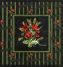 """Набор для вышивки """"Цветущие маки"""" 1 шт. (""""Panna"""" Ц-0512) 33см х 33см"""