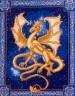 """Набор для вышивки """"Небесный дракон"""" 1 шт. (""""Panna"""" Ф-0488) 25см х 32.2см"""