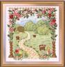 """Набор для вышивки """"Любимый сад"""" 1 шт. (""""Panna"""" Ц-0901) 28см х 29.5см"""