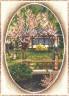 """Набор для вышивки """"Японский садик"""" 1 шт. (""""Panna"""" ПС-0828) 26см х 34см"""