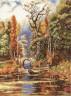 """Набор для вышивки """"Осенью в парке"""" 1 шт. (""""Panna"""" ПС-0994) 27см х 36см"""