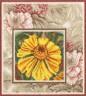 """Набор для вышивки """"Солнечный цветок"""" 1 шт. (""""Panna"""" Ц-0565) 26см х 26см"""