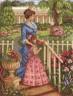 """Набор для вышивки """"В цветущем саду"""" 1 шт. (""""Panna"""" ИС-1077) 24см х 32см"""