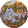 """Набор для вышивки """"Ранняя осень"""" 1 шт. (""""Panna"""" ИС-1074) 32см х 32см"""