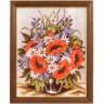 """Набор для вышивки """"Ваза с полевыми цветами"""" 1 шт. (""""Rico Design"""" 50117.54.70) 30см х 40см"""