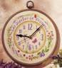 "Набор для вышивки ""Прованс"" (часы) 1 шт. (""Vervaco"" 2012/PN-0012709) 20см х 20см"