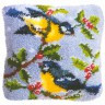 "Набор для вышивки ""Птички"" (подушка) 1 шт. (""Vervaco"" 2560/3559) 40см х 40см"