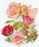 "Набор для вышивки ""Фея розового сада"" 1 шт. (""Алиса"" 2-07) 27см х 33см"