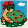 """Набор для вышивки """"Черепаха"""" 1 шт. (""""Кларт"""" 012-7) 9.5см х 9.5см"""
