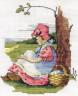 """Набор для вышивки """"Красная Шапочка"""" 1 шт. (""""Кларт"""" 1-031) 14см х 11.5см"""