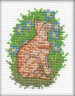 """Набор для вышивки """"Котик - розовый носик"""" 1 шт. (""""Кларт"""" 8-029) 12см х 10см"""