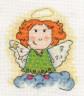 """Набор для вышивки """"Ангел-хранитель"""" 1 шт. (""""Кларт"""" 8-059) 12см х 11см"""