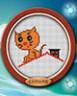 """Набор для вышивки """"Котенок на крыше"""" 1 шт. (""""Lutars"""" №058) 11см х 9см"""