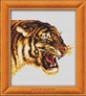 """Набор для вышивки """"Тигр"""" 1 шт. (""""Lutars"""" №141) 19см х 18см"""