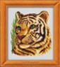 """Набор для вышивки """"Тигрица"""" 1 шт. (""""Lutars"""" №157) 16см х 18см"""