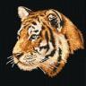 """Набор для вышивки """"Тигр"""" 1 шт. (""""М.П.Студия"""" нв 077) 30см х 30см"""