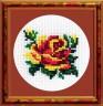 """Набор для вышивки """"Роза"""" 1 шт. (""""РС студия"""" 532) 8см х 8см"""