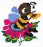 """Набор для вышивки """"Пчелка"""" 1 шт. (""""РС студия"""" С-099) 11см х 12см"""