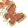 """Набор для вышивки """"Бабочка"""" 1 шт. (""""РС студия"""" С-337) 14см х 16см"""