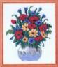 """Набор для вышивки """"Полевые цветы"""" 1 шт. (""""Астра"""" 087) 17см х 19см"""