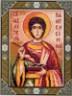 """Канва с рисунком """"Св. Целитель Пантелеймон"""" 1 шт. (723) 24см х 30см"""
