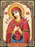 """Набор для вышивки """"Икона Божией Матери Умягчение злых сердец"""" 1 шт. (""""Panna"""" ЦМ-1262) 20,5см х 28см"""