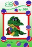 """Набор для вышивки """"Крокодил"""" 1 шт. (""""РС студия"""" 580) 7см х 8см"""