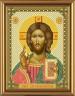 """Набор для вышивки """"Христос Спаситель"""" 1 шт. (""""Nova Sloboda"""" 6001) 13см х 17см"""