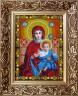 """Набор для вышивки """"Пресвятая Богородица"""" 1 шт. (""""Nova Sloboda"""" 9002) 19см х 26см"""
