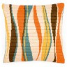 """Набор для вышивки """"в оранжевой гамме"""" (подушка) 1 шт. (""""Vervaco"""" 1530/PN-0145113) 40см х 40см"""