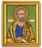 """Набор для вышивки """"Св. Петр"""" 1 шт. (""""Кроше"""" (Радуга бисера) В-332) 12см х 14,5см"""
